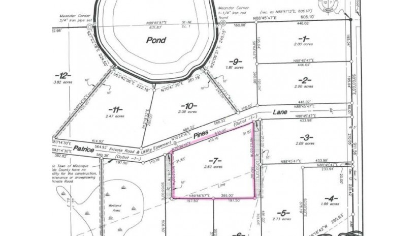 ON Patrice Pines Ln LOT 7 Minocqua, WI 54548 by Coldwell Banker Mulleady - Mnq $23,000