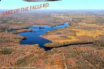 ON Lake Of The Falls Rd 120 ACRES, Mercer, WI 54547