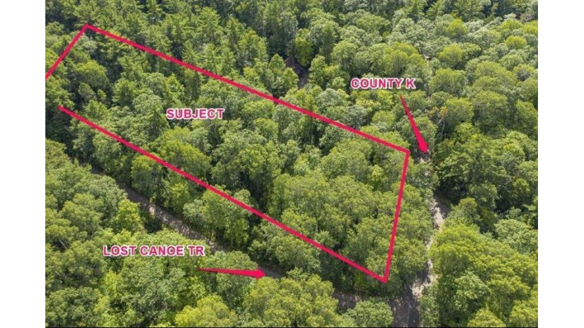 On Lost Canoe Tr Boulder Junction, WI 54512 by Re/Max Property Pros-Minocqua $59,900