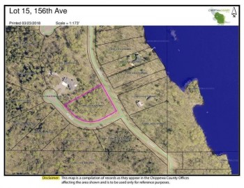 Lot 15 156th Avenue, Stanley, WI 54768