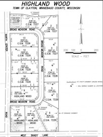 BROAD MEADOWS Road, Clayton, WI 54956-2913