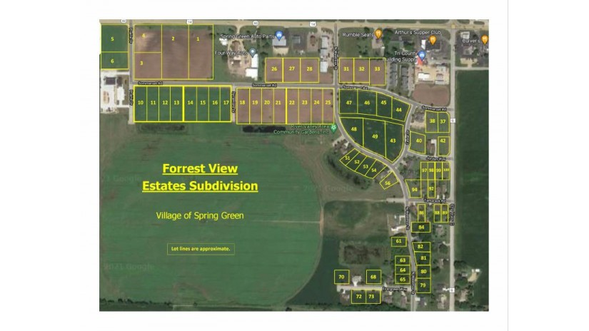 L37,l38,l40,l42 Sommerset Rd Spring Green, WI 53588 by Century 21 Affiliated $58,900