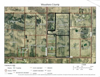 51.3 Ac Chicago Ave, Poy Sippi, WI 54967