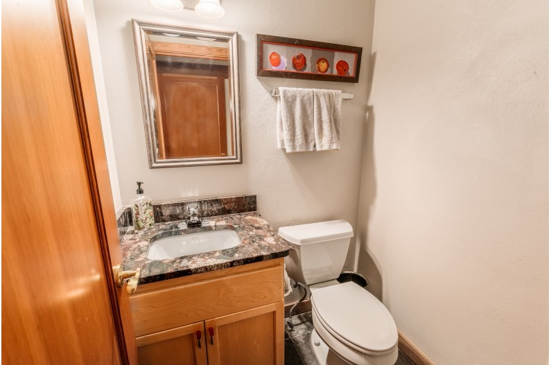 Two Powder rooms on Main floor