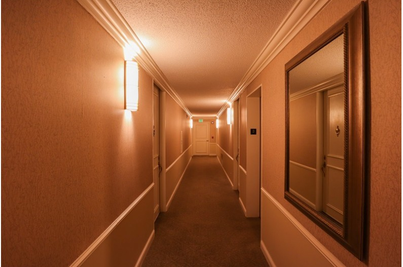 Hallway to your Unit