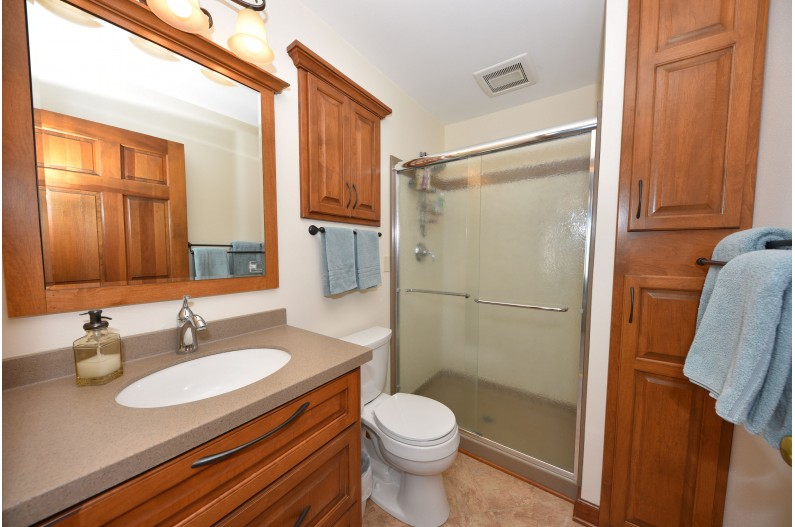 Remodeled Bath w/Shower St
