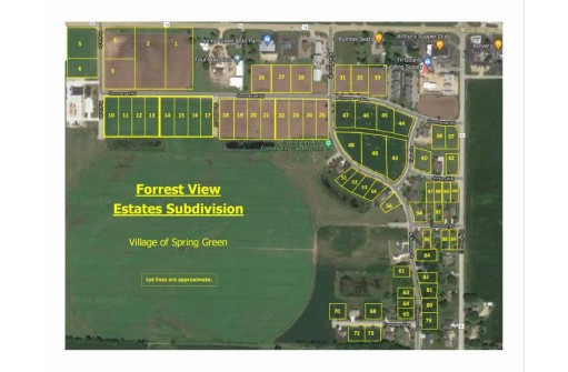 L31,32,33 Sommerset Rd, Spring Green, WI 53588