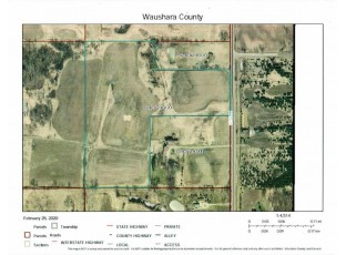 24.9 Ac 37th Ave Poy Sippi, WI 54967
