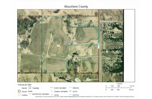 24.9 Ac 37th Ave, Poy Sippi, WI 54967