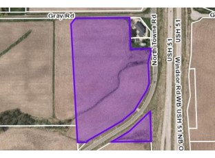 19.66 Ac North Towne Rd/Gray Rd Windsor, WI 53598