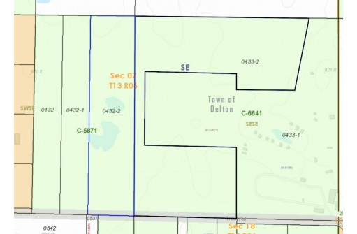 8.74 Acres Trout Rd, Wisconsin Dells, WI 53965