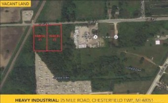 0 25 Mile Chesterfield Township, MI 48051