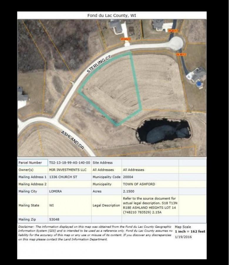 LT14 Sterling Ct, Campbellsport, WI by Adashun Jones Real Estate $70,000
