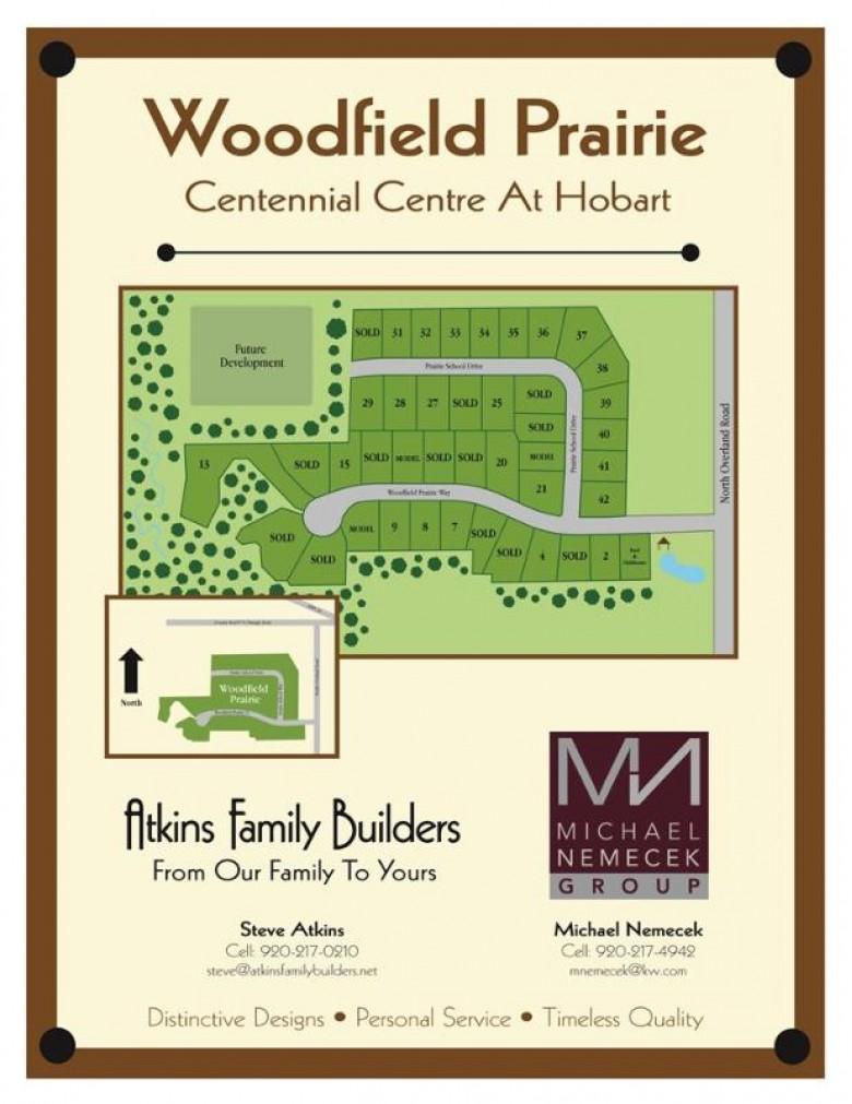 4885 Prairie School Drive, Hobart, WI by Keller Williams Green Bay $84,900
