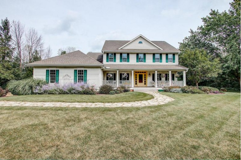 2220 W Sunnydale Ln, Mequon, WI by First Weber Real Estate $699,000