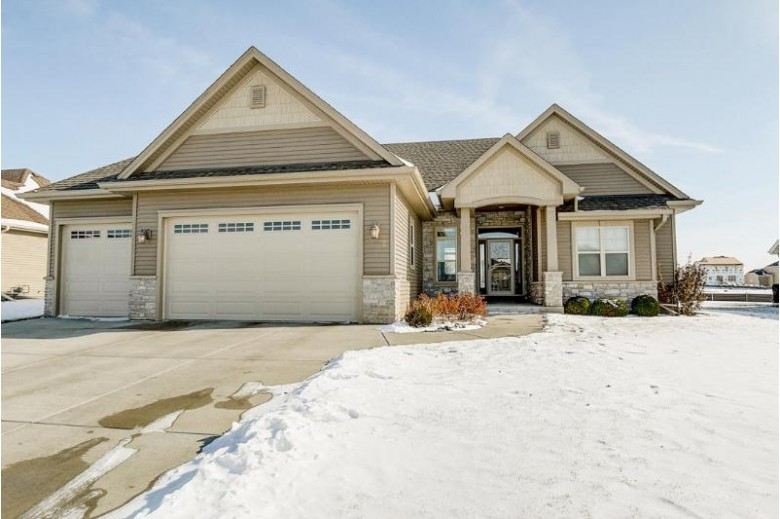 580 Mary Way, Slinger, WI by Hanson & Co. Real Estate $379,900