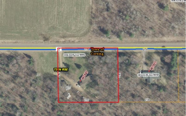 W7847 County Road Z, Merrill, WI by Coldwell Banker Action $87,900