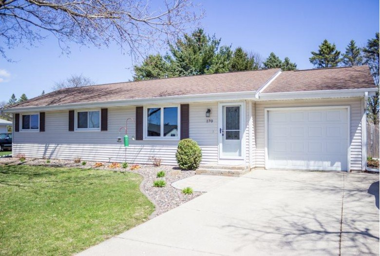 170 Romar Dr, Milton, WI by Coldwell Banker The Realty Group $209,900