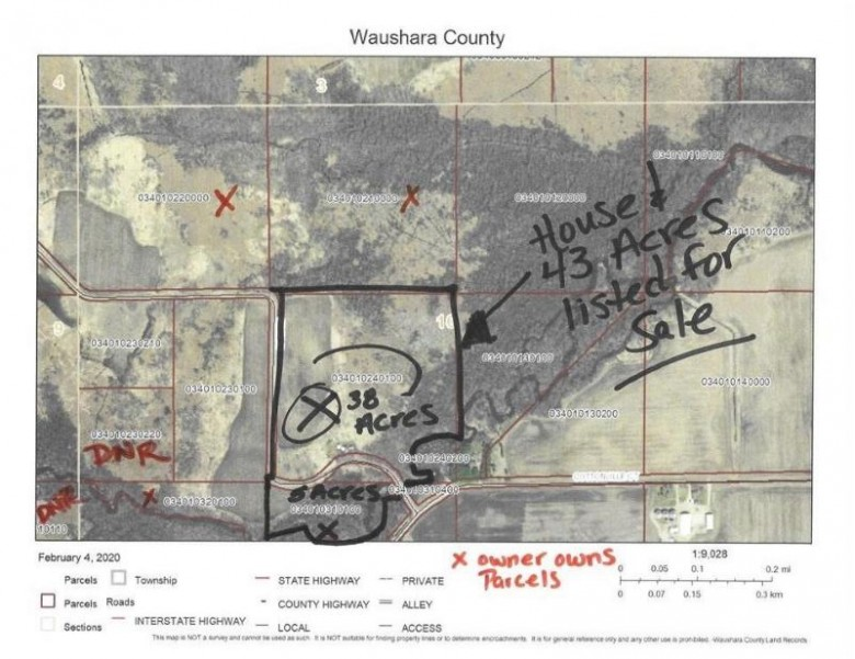 N1924 28th Road Redgranite, WI 54970 by First Weber Real Estate $259,000