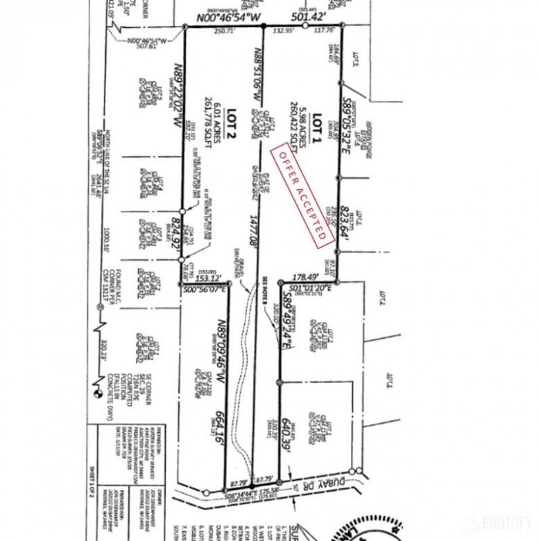 202032 Dubay Drive LOT 2, Mosinee, WI by Amaximmo Llc $89,900