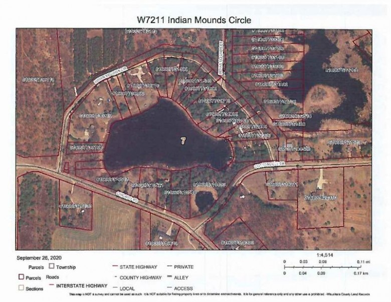 W7211 Indian Mounds Circle Wautoma, WI 54982 by First Choice Realty, Inc. $89,900