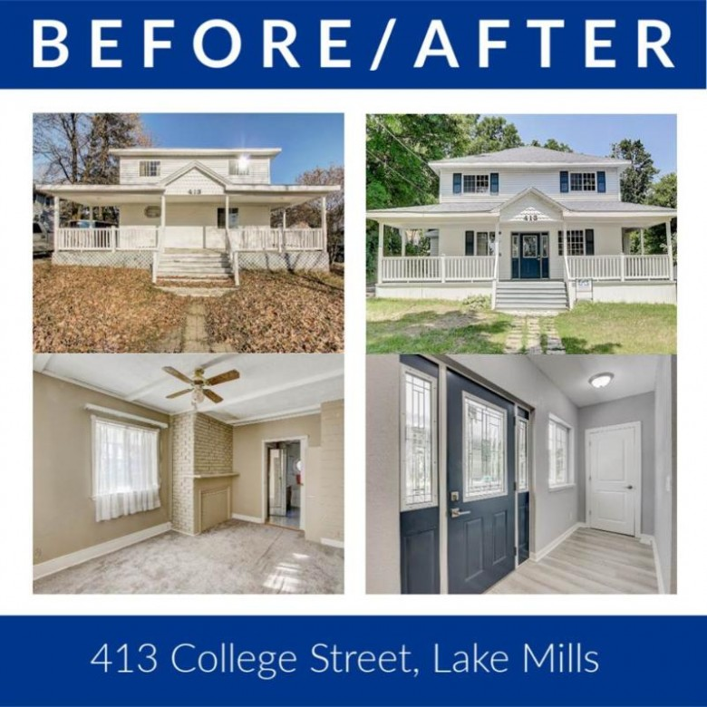 413 College St Lake Mills, WI 53551-1410 by Re/Max Preferred $324,900