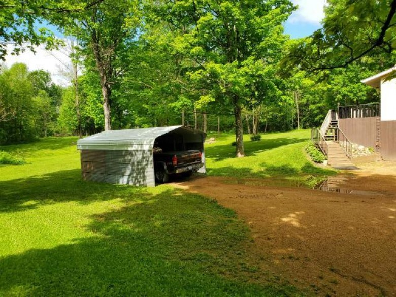 N1577 Rolling Hills Rd, Rolling, WI by Wolf River Realty $169,700