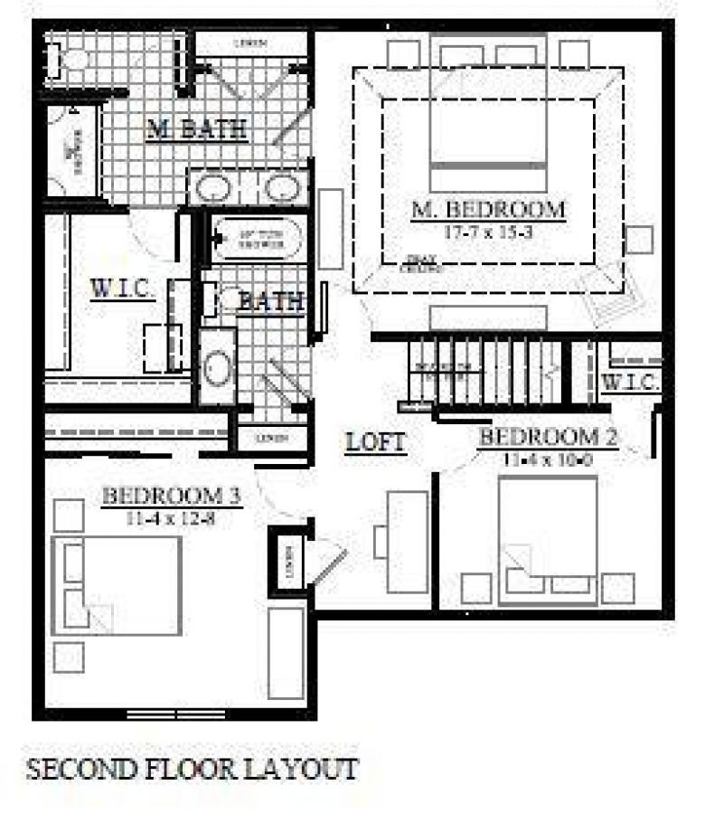 421 Saratoga Dr, Johnson Creek, WI by Loos Custom Homes,llc $354,900