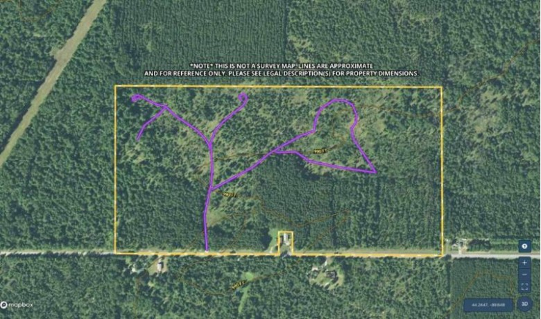 79.5 AC Akron Dr Nekoosa, WI 54457 by United Country Midwest Lifestyle Properties $214,650