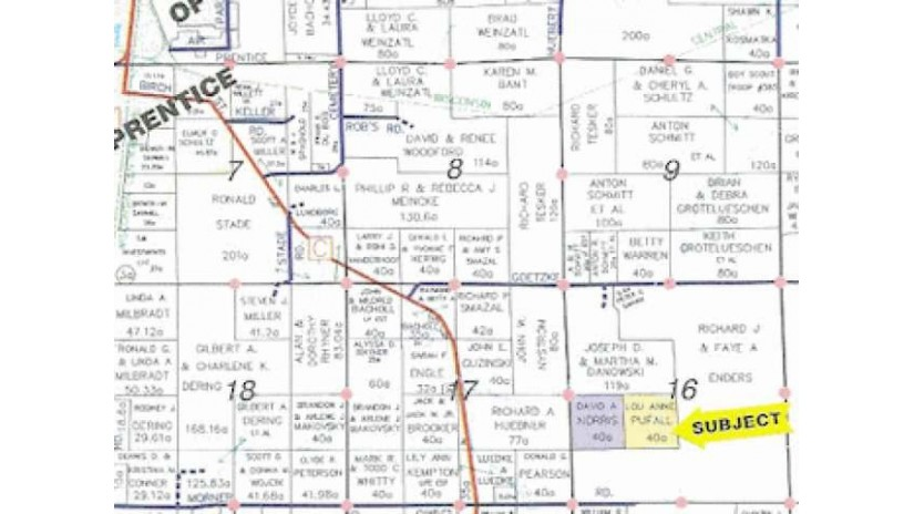 Near No Road Access Prentice, WI 54556 by Birchland Realty, Inc - Park Falls $14,900