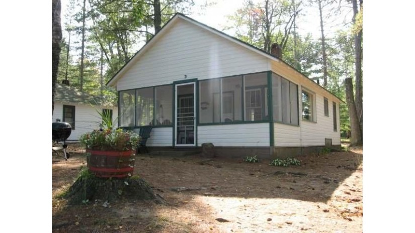 5801 Birch Hill Rd 3 Manitowish Waters, WI 54545 by Century 21 Pierce Realty - Mw $149,500