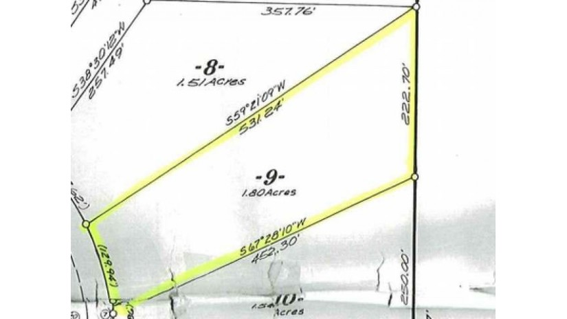 Lot 9 Woodland Dr Plum Lake, WI 54561 by Eliason Realty Of St Germain $19,000
