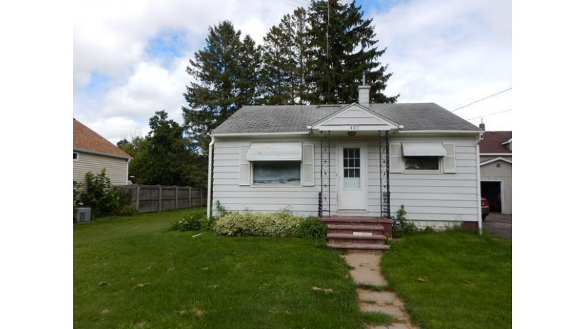 407 Deleglise St Antigo, WI 54409 by Wolf River Realty $32,900