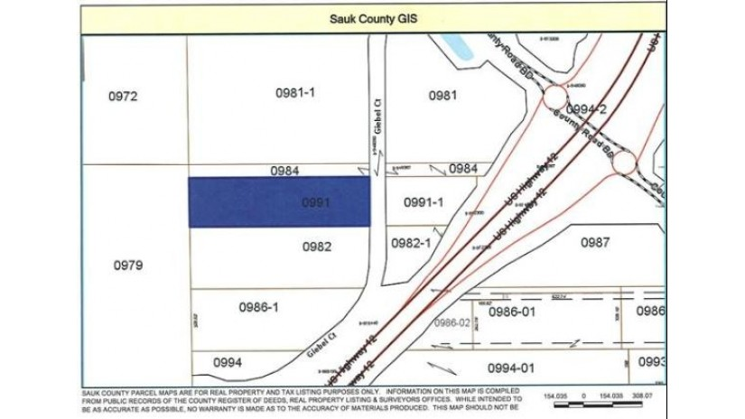 5.69 Ac Giebel Ct Delton, WI 53913 by First Weber Inc $99,900