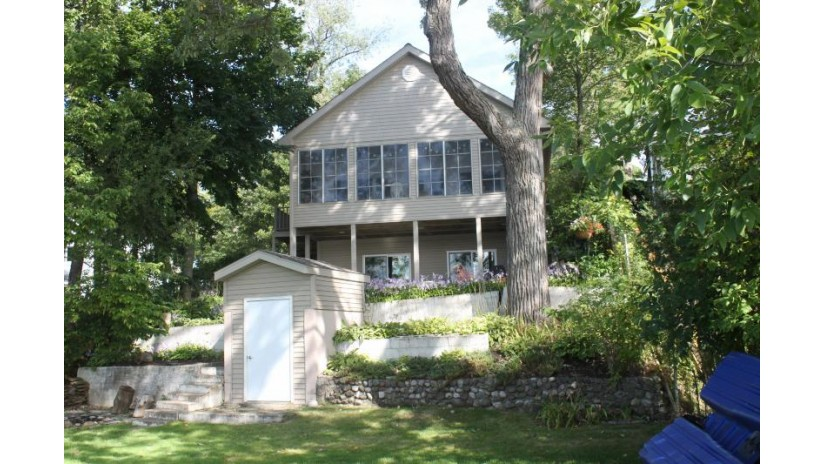 335 Indian Point Rd Twin Lakes, WI 53181-9777 by @properties $720,000