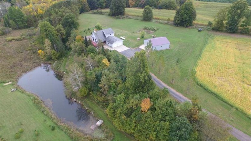 N3228 HUNTING Road Grant, WI 54486-8779 by Full House Realty, LLC $264,900