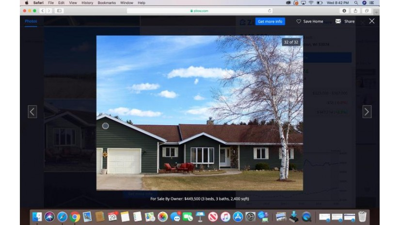 3980 County Road LL Port Washington, WI 53074 by NON MLS $449,900