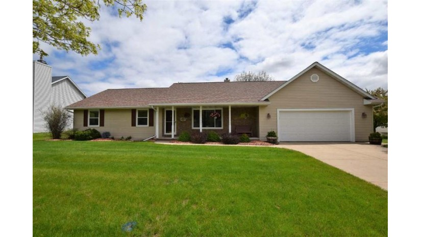 1188 PAWN Drive Howard, WI 54313-7278 by Coldwell Banker Real Estate Group $259,900