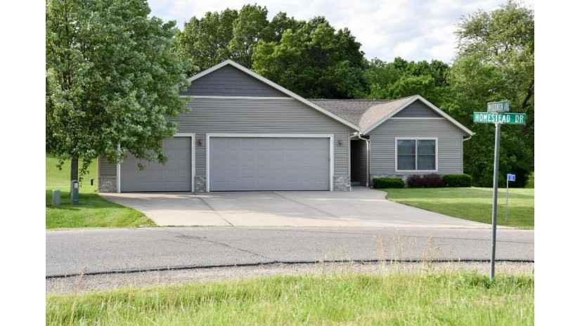 321 Homestead Dr Twin Lakes, WI 53181-9810 by New Era Realty, Inc. $339,900