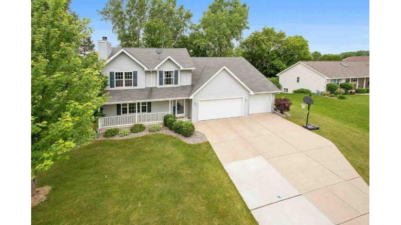 3185 LIBERTY BELL Road Howard, WI 54313 by Kersten Realty Residential Inc. $299,900