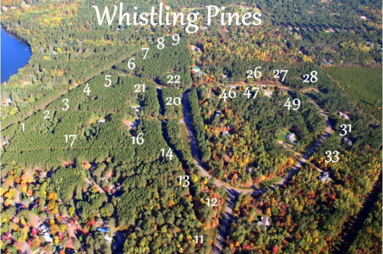 LOT 46 Bosshard Circle Rd, Arbor Vitae, WI by First Weber Real Estate $31,900