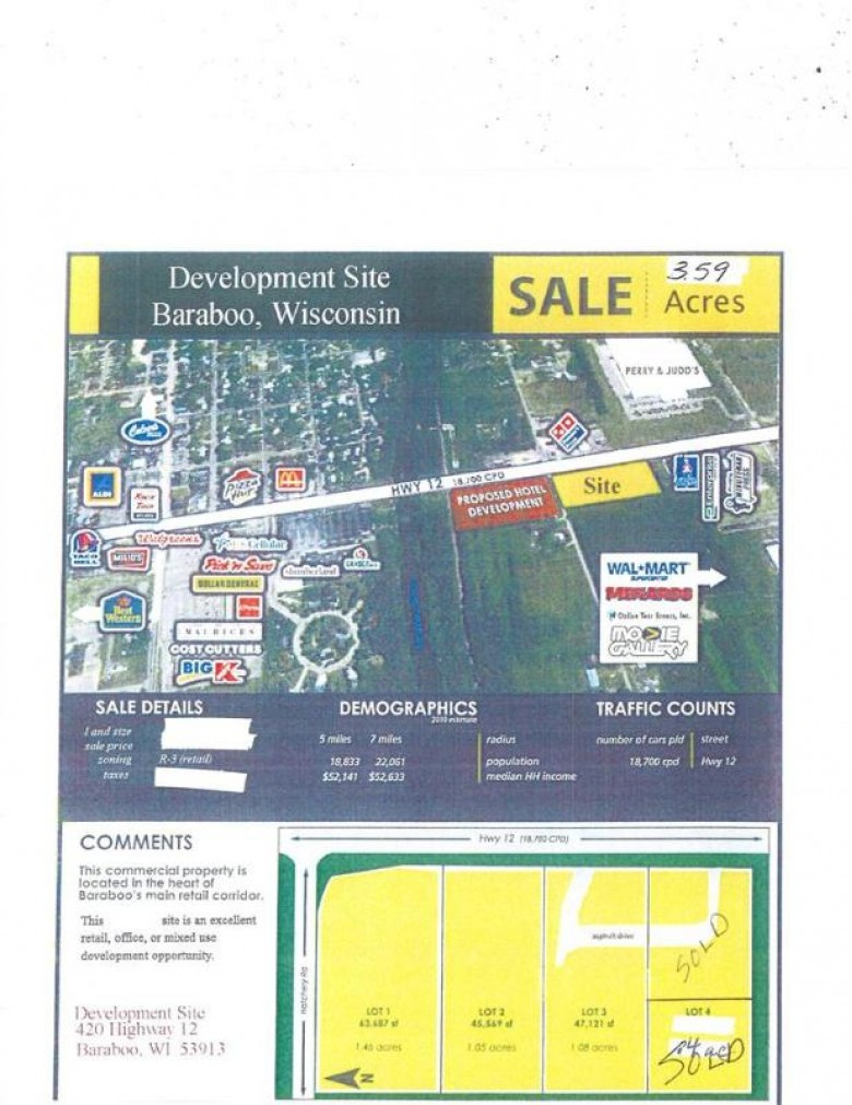 420 Hwy 136, Baraboo, WI by First Weber Real Estate $300,000