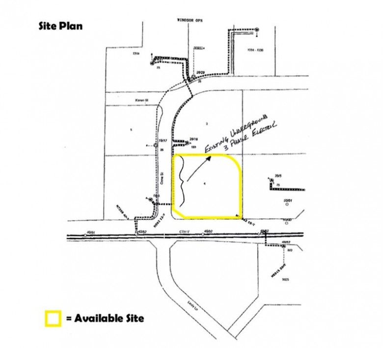 2.63 AC County Road V, DeForest, WI by Slinde Realty Company $375,000