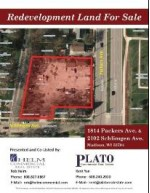 1814 Packers Ave, Madison, WI by Helm Commercial Real Estate $240,000