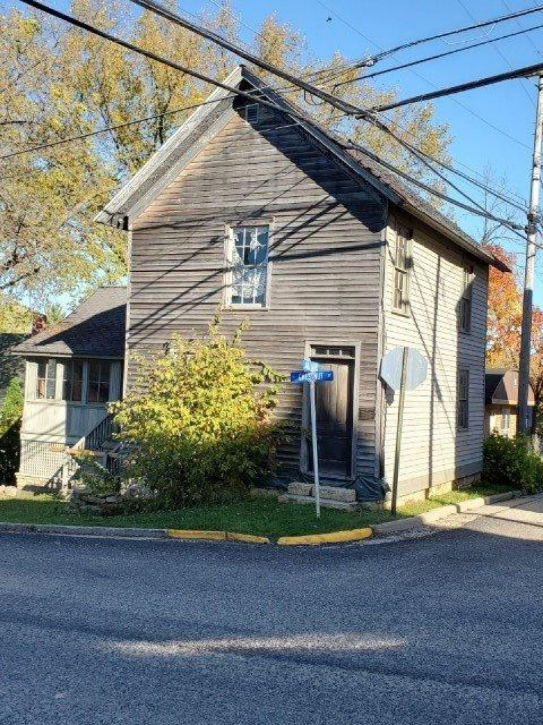 153 Jail Alley, Mineral Point, WI by Potterton-Rule Inc $85,000