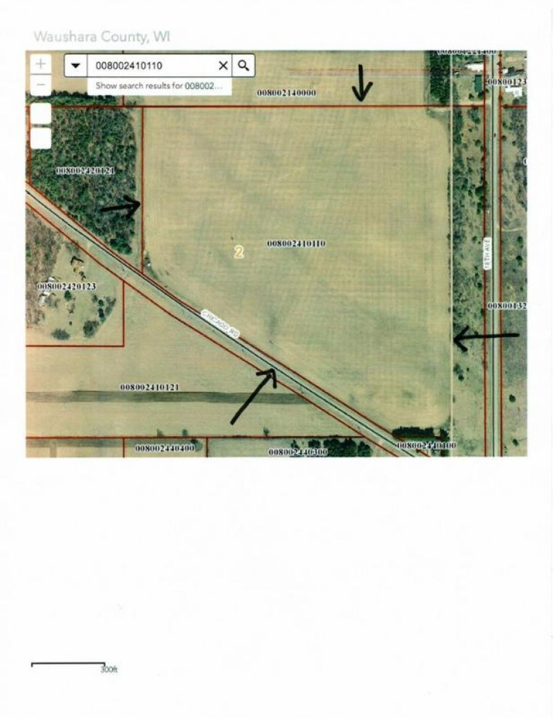 31.35 AC Chicago Rd, Wautoma, WI by Whitemarsh Properties Llc $314,900