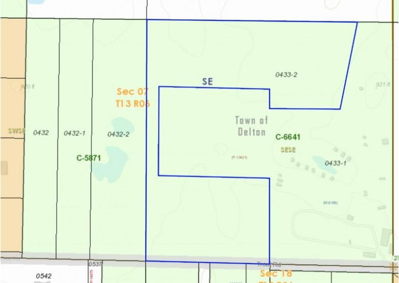 17.92 Acres Trout Rd, Wisconsin Dells, WI by Exit Realty Hgm $323,000