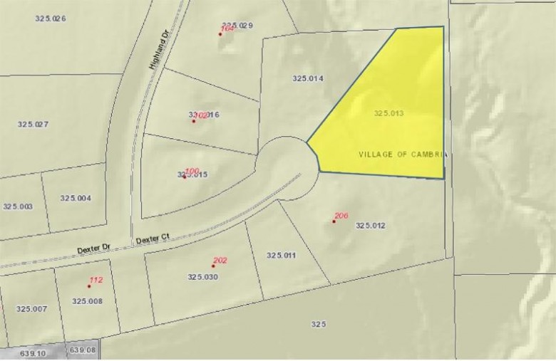 LOT 13 Dexter Ct, Cambria, WI by Tri-County Real Estate, Inc. $24,900