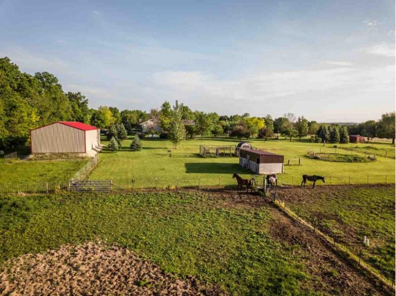 12820 Avon North Townline Rd Brodhead, WI 53520-8872 by First Weber Real Estate $775,000