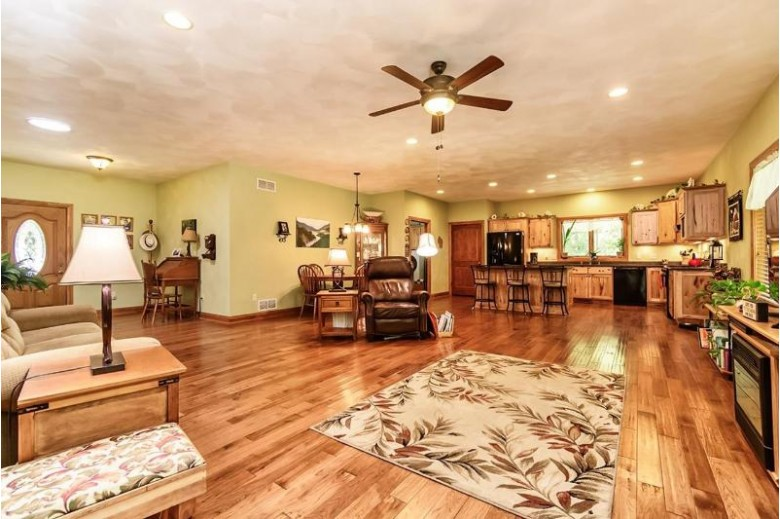 N1691 Mount Hope Rd Brodhead, WI 53520 by First Weber Real Estate $449,900